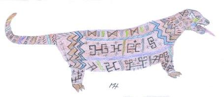 Tulupele, dessin de Mataliwa Kulijaman (2011)