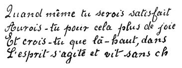 Écriture de Leopold