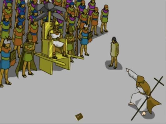 Image d'un dessin animé d'Inkarricamac (Rusbel Mollo)
