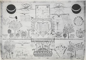 Vision de Joanna Kitchell rédigée par Sarah Bates (1845)