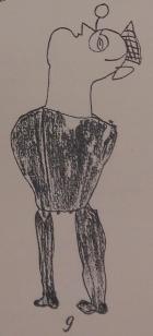 Portrait d'Alfred Métraux par un Chiriguano